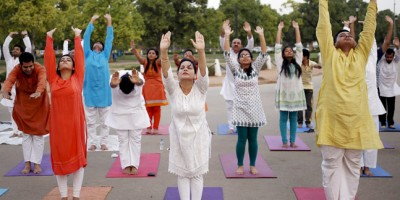 Yoga Day celebrated all over Uttarakhand, hundreds of participants performed yogic asanas