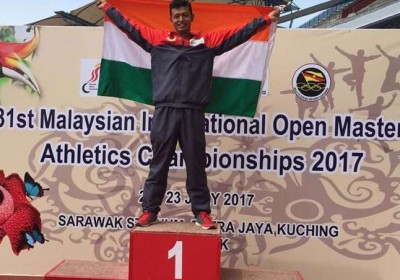 Uttarakhand's Deepak Singh Negi bags two gold medals in Athletics in Malaysia