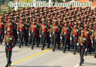 Garhwal Rifles regiment army recruitment to start on April 3